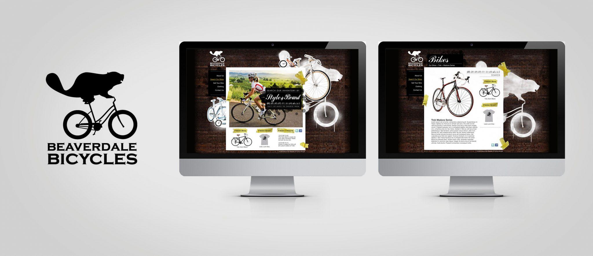 Beaverdale Bicycles Branding