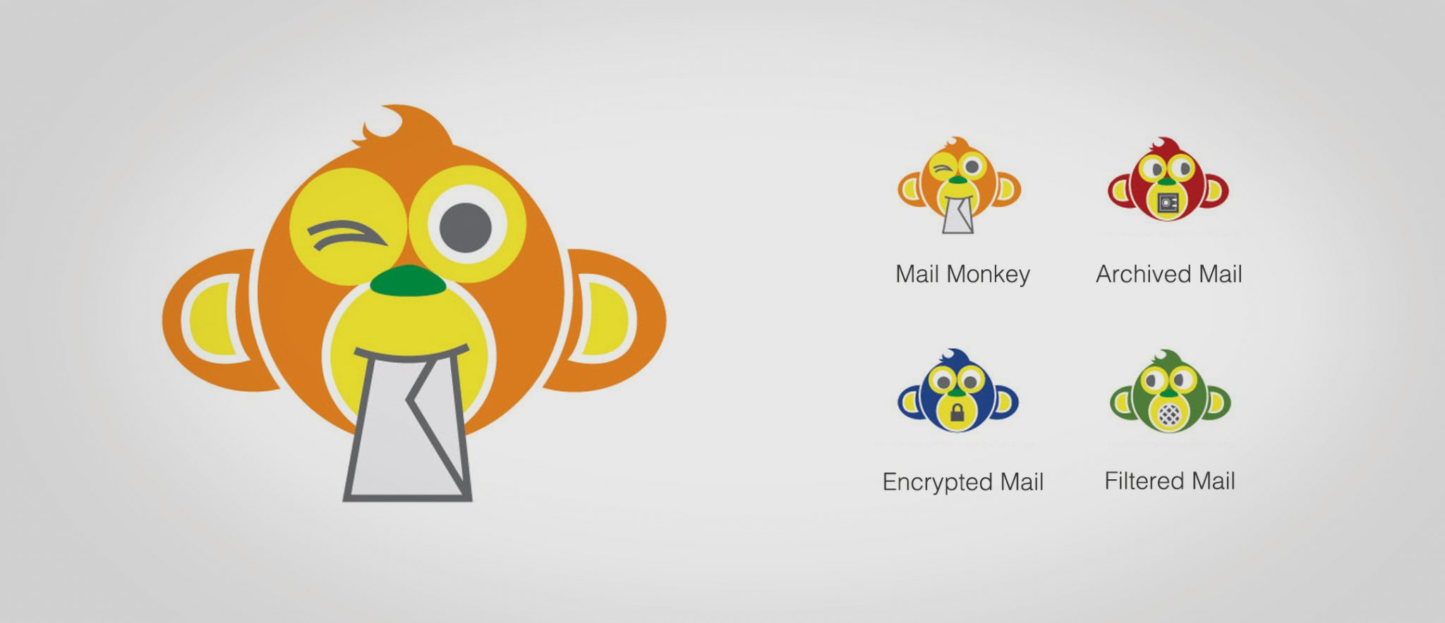 Mail Monkey Logo Design