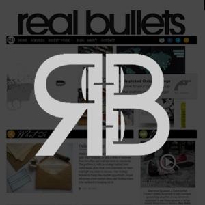 Real Bullets Website Design