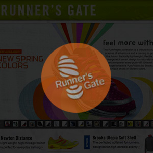 Runner's Gate Website Design