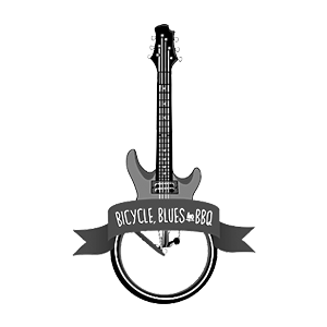 Bicycle, blues and BBQ Logo Design