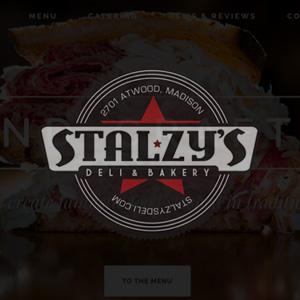 Stalzy's logo design
